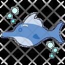 Marlin Fish Animal Ocean Icon