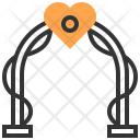 Marriage Gate Heart Icon