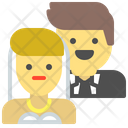Marriage Couple Family Icon