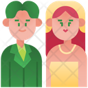 Marriage Couple Wedding Icon