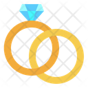 Marriage Engagement Jewelry Icon