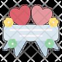 Banner Text Wedding Icon
