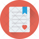 Marriage Certificate Love Icon