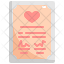 Marriage Certification Wedding Icon