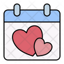 Date Calendar Wedding Icon