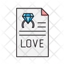 Love File Engagement Icon