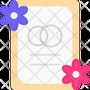 Marriage Invitation Wedding Invitation Invitation Card Icon