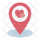 Location Place Wedding Icon