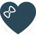 Heart Magnifier Dating Concept Icon