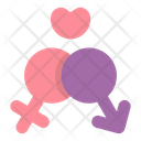 Married Husband Wife Icon