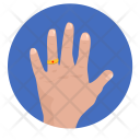 Hand Gesture Married Icon