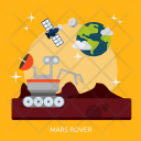 Mars Rover Space Icon