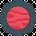 Mars Space Galaxy Icon