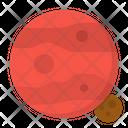 Mars Planet Solar Icon