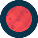 Mars Space Planet Icon