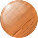 Mars Planet Space Icon