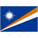 Flag Country Marshall Islands Icon