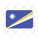 Marshall Islands Flag Country Icon