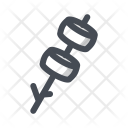Marshmallow Meal Outdoor Icon