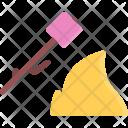 Marshmallow Campfire Icon