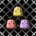 Marshmallow Candy Dessert Icon