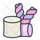 Marshmallow Sweet Dessert Icon