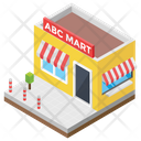 Mart Mini Mall Shopping Mall Icon