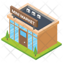 Mart Shopping Mall Market Icon
