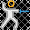 Martial Art Fight Icon