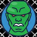 Martian Manhunter Evil Villain Icon