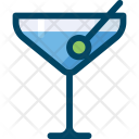 Martini Alcohol Drink Icon