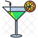 Martini Glass Juice Icon