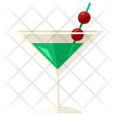 Martini Glass Drink Icon