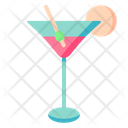 Martini Cocktail Glass Icon