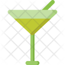 Martini Juice Glass Icon