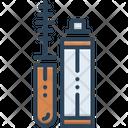 Mascara Applicator Bottle Icon
