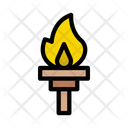 Mashal Torch Fire Icon
