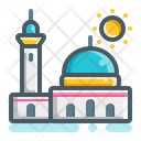 Masjid Mosque Muslim Icon