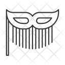 Mask Fashion Theme Icon