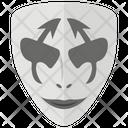 Mask Joker Spooky Mask Icon