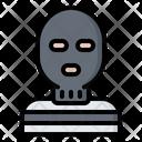 Mask Criminal Thief Icon