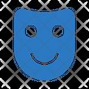 Mask Carnival Happy Icon