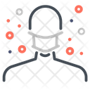 Mask Protection Plague Icon