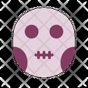 Halloween Horror Mask Icon
