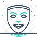 Mask Camouflage Comedy Icon