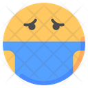 Mask Emot Emoji Icon