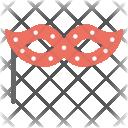 Masquerade Ball Mask Icon