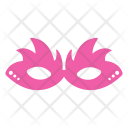 Mask Face Pink Icon