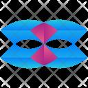 Mask Logogram Shape Icon