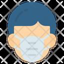 Mask Gas Face Icon
